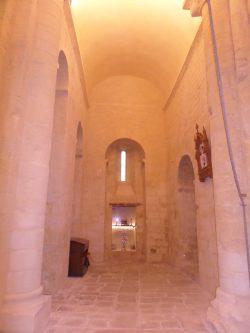 Bras Nord Ouest du Transept et ses reliquaires