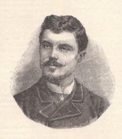 Portrait gravé publié dans La Plume en janvier 1900