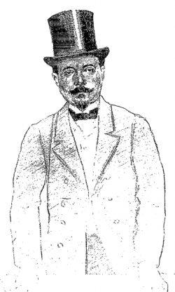 Portrait par Frédéric-Auguste Cazals