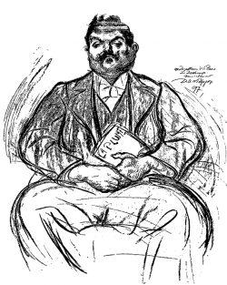 Dessin de David Ossipovitch Widhopff (1897).