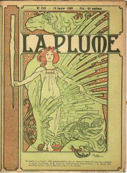 Couverture conçue par Alfons Mucha (15 janvier 1898)
