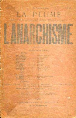 Couverture du n° 97, daté 1er mai 1893, sur l'anarchisme.