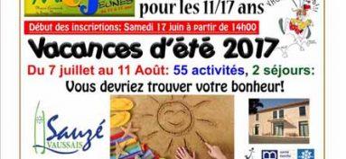 Programme ÉTÉ 2017