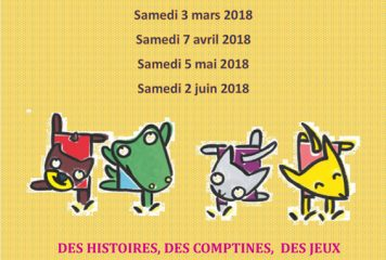 Graines de Lecture 0-3 ans de février à juin 2018