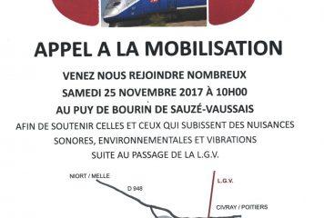 «Stop nuisances L.G.V» Appel à mobilisation