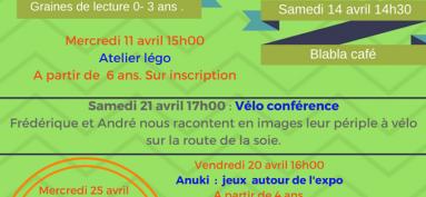 Programme d'avril 2018
