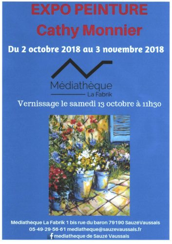 Expo mediatheque octobre 2018