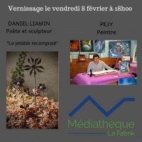 expo Péjy et Daniel Liamin