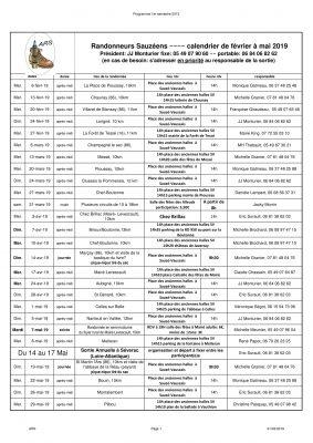 Programme ARS février-mai 2019-1