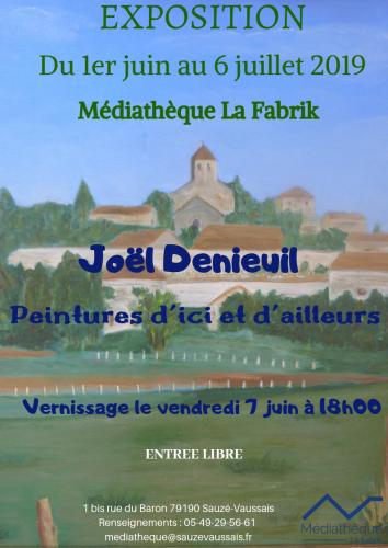 expo peinture Joel Denieuil
