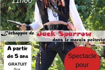 Jack Sparrow débarque