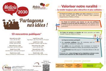 Projet de territoire «Mellois en Poitou». Partageons nos idées.